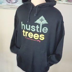 Lrg Brand Hustle Trees Hoodie Men's